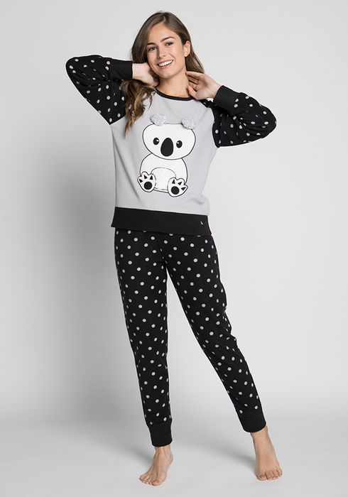 0725567575 PIJAMA-POLAR-PANTALON-LARGO