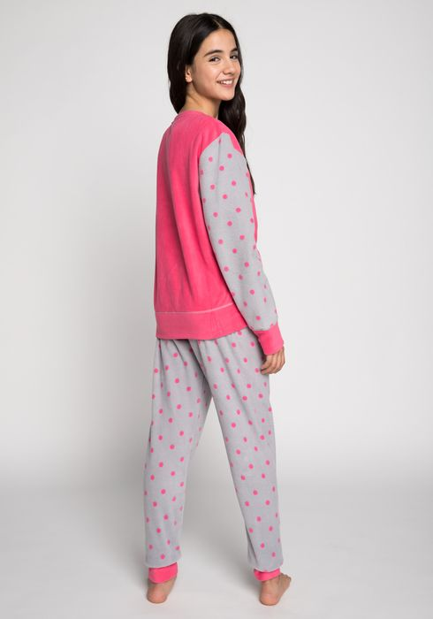 9304f6262 PIJAMA-POLAR-PANTALON-LARGO